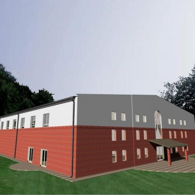 Bihari Rendezvénycsarnok építése